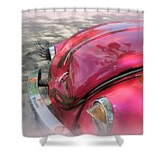 Comical Volkswagen Shower Curtain
