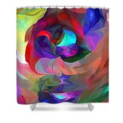 Coming To Consciousness Shower Curtain