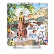 Competa 01 Shower Curtain