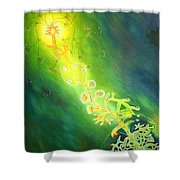 Complete Life Cycle Shower Curtain