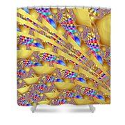 Complex Garden 2 Shower Curtain