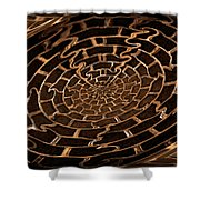 Complicated Journey Shower Curtain