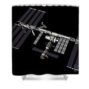 Computer Generated View Shower Curtain