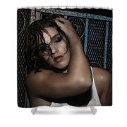 Concrete Velvet 20 Shower Curtain