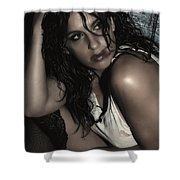 Concrete Velvet 23 Shower Curtain