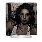 Concrete Velvet 30 Shower Curtain