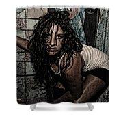Concrete Velvet 34 Shower Curtain