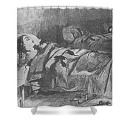 Conditions In Bellevue Hospital, New Shower Curtain