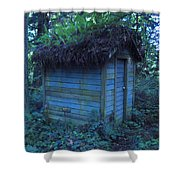 Condo In The Woods Shower Curtain