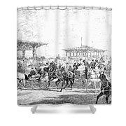 Coney Island, 1877 Shower Curtain