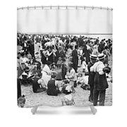 Coney Island New York - 1912 Shower Curtain