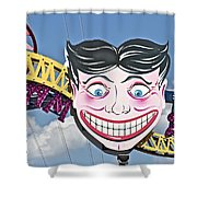 Coney Joker Shower Curtain