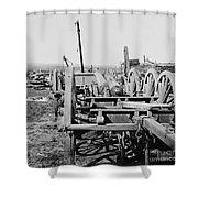 Confederate Cannon Shower Curtain