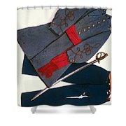 Confederate Uniform Shower Curtain