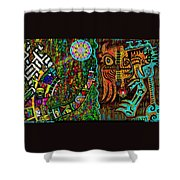 Confessions Of A Soul Traveller Shower Curtain