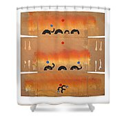 Conflagration Shower Curtain