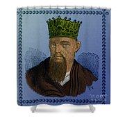 Confucius, Chinese Philosopher Shower Curtain