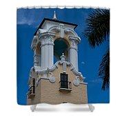 Congregational Church Tower Shower Curtain
