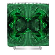 Conjoint - Emerald Shower Curtain