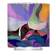 Conjuncture Shower Curtain