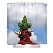 Conjuring The Clouds Shower Curtain