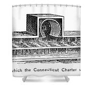 Connecticut: Charter Box Shower Curtain