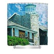 Conneticut Coastal Home Shower Curtain