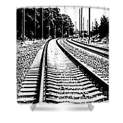 Conneticut Railway Shower Curtain