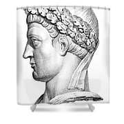 Constantine I (d. 337) Shower Curtain