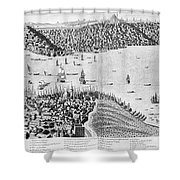 Constantinople, 1713 Shower Curtain