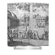 Constantinople, 1727 Shower Curtain