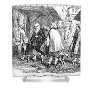 Constantinople, 1854 Shower Curtain