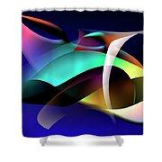 Soulscape 9 Shower Curtain