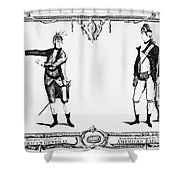 Continental Army Shower Curtain