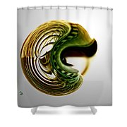Continuous Agitation Shower Curtain