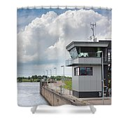 Control Room Shower Curtain