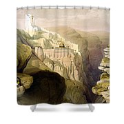 Convent Of St Saba Shower Curtain
