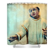 Conversation With God Shower Curtain