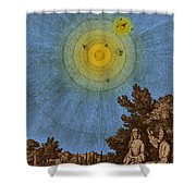 Conversations On The Plurality Shower Curtain by Science Source