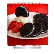 Cookies N Cream Shower Curtain