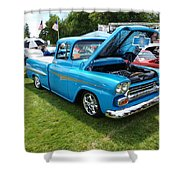 Cool Blues Classic Truck Shower Curtain