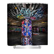 Cool Brittania Shower Curtain