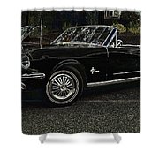 Cool Classic Mustang Shower Curtain