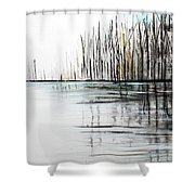 Cool Day Shower Curtain