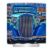 Cool Front End Hdr Shower Curtain