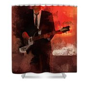 Cool Hand Marc Shower Curtain