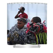 Cool In Frills Number 1 Shower Curtain