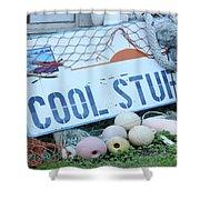 Cool Stuff Shower Curtain