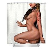 Cool World Shower Curtain