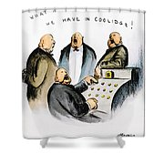 Coolidge: Cash Register Shower Curtain